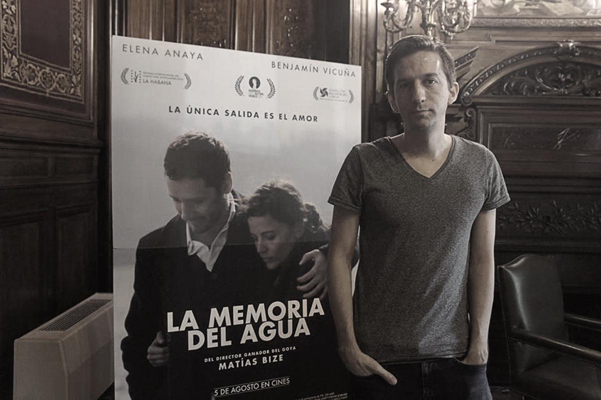 Entrevista a Matías Bize, director de 'La Memoria del Agua'